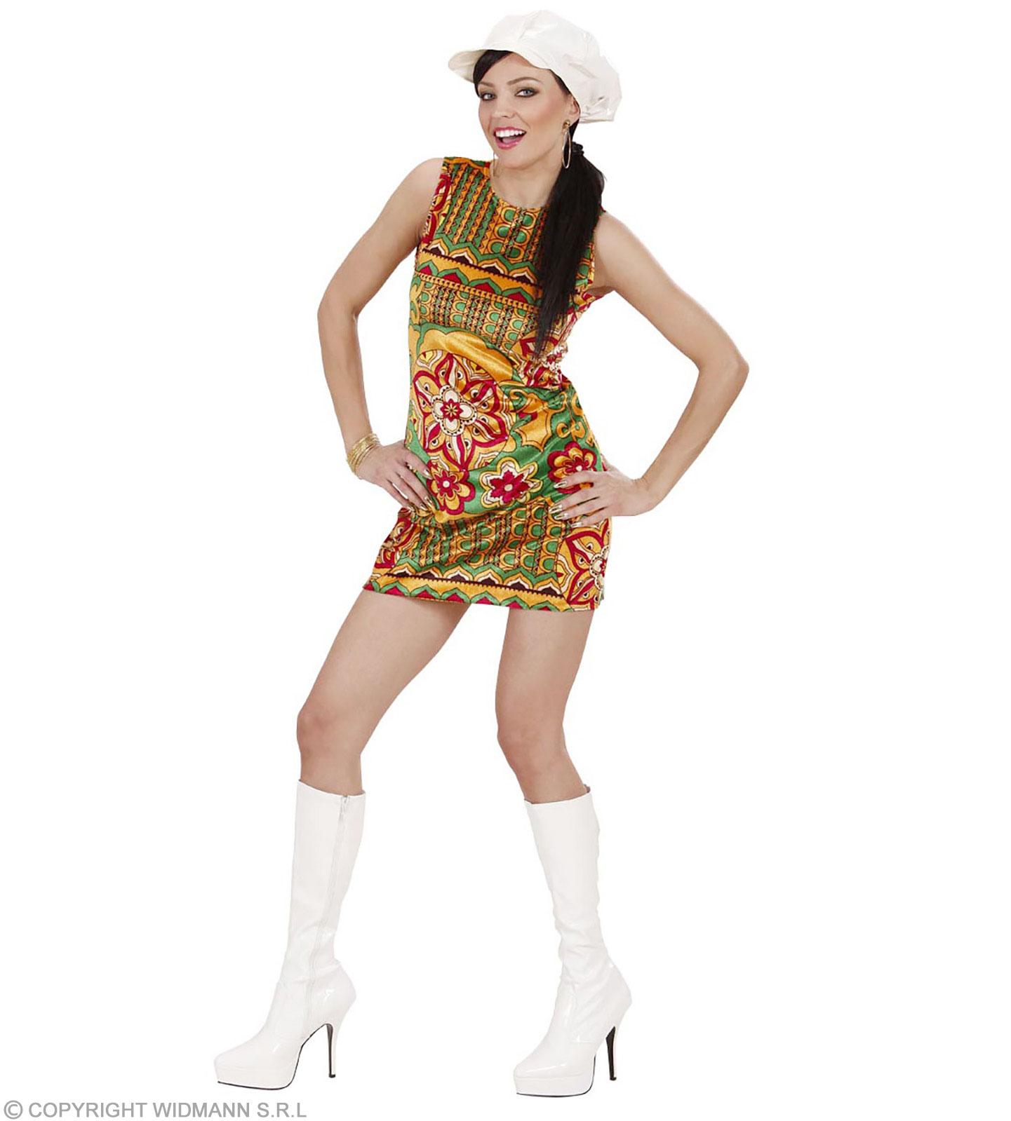 Details zu Kostüm 18er Jahre Kleid - 18 ties - Sommerkleid Samt Minikleid